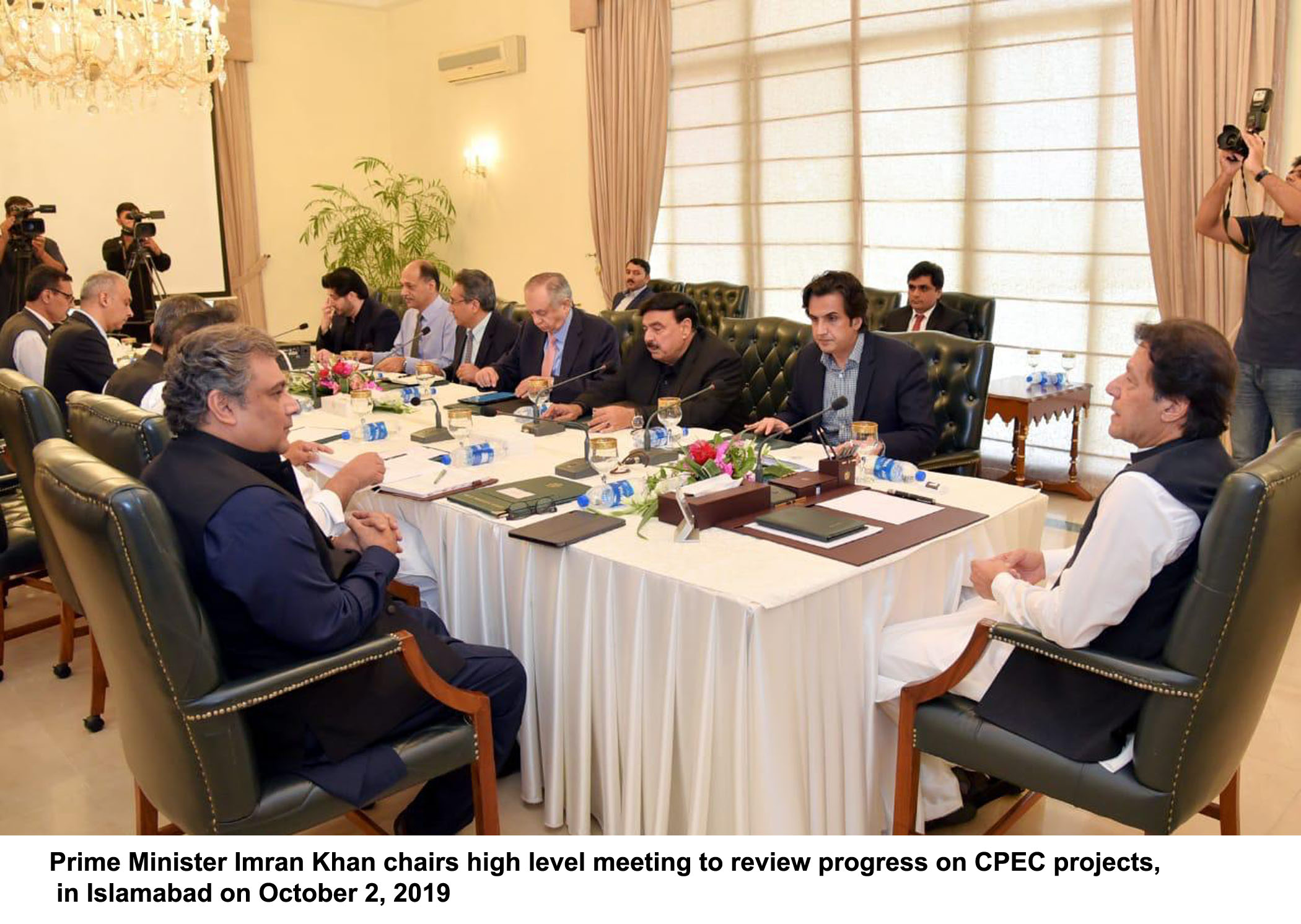 Prime Minister received Briefing on China-Pakistan Economic Corridor on October 2, 2019