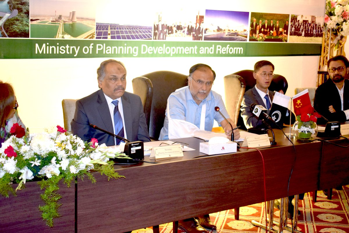 54th CPEC Projects Progress Review Meeting on 21st May 2018