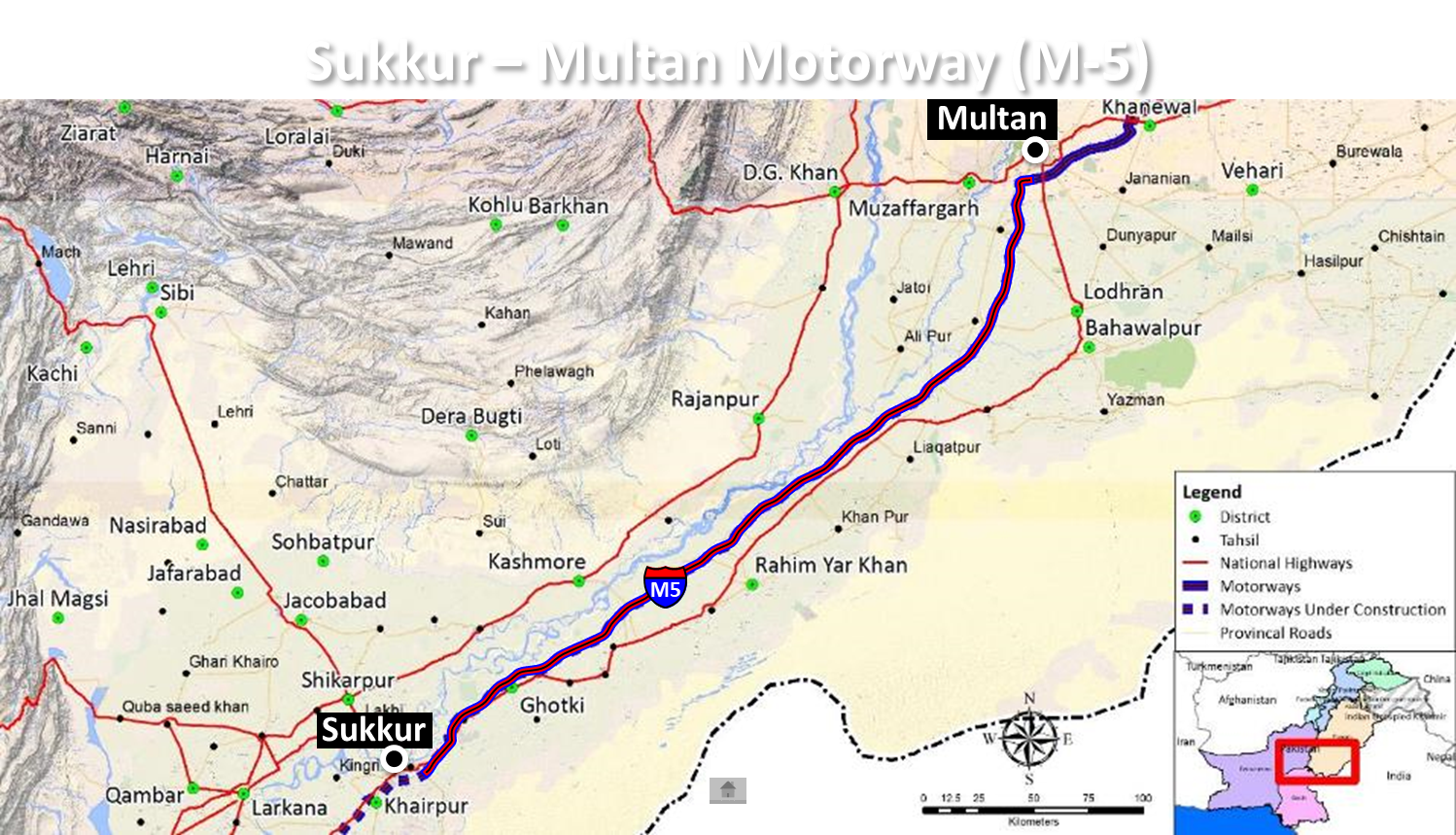 Peshawar-Karachi Motorway (Multan-Sukkur Section)